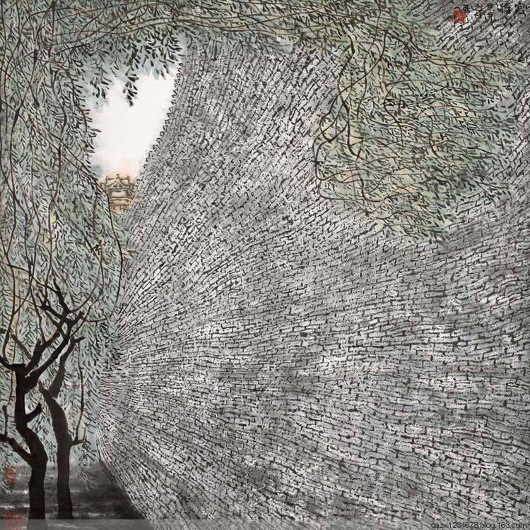 聆赏山川浊音  李小可、庄小雷中国画作品展表态国度大剧院(艺术批评人陈智勇) - qazx1234678 - qazx1234678的博客