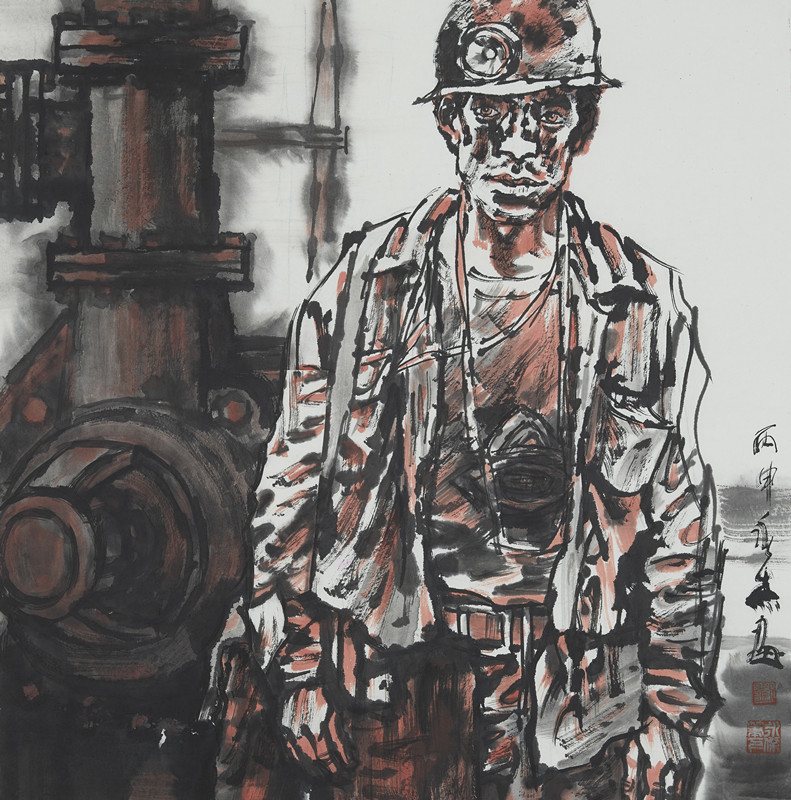 井下的矿工