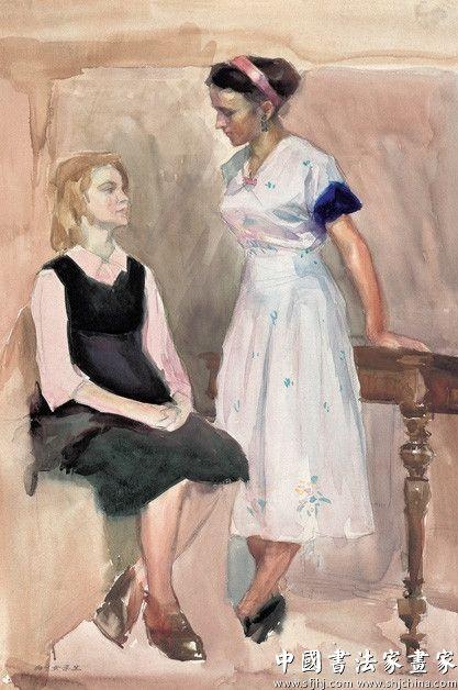 两个女学生